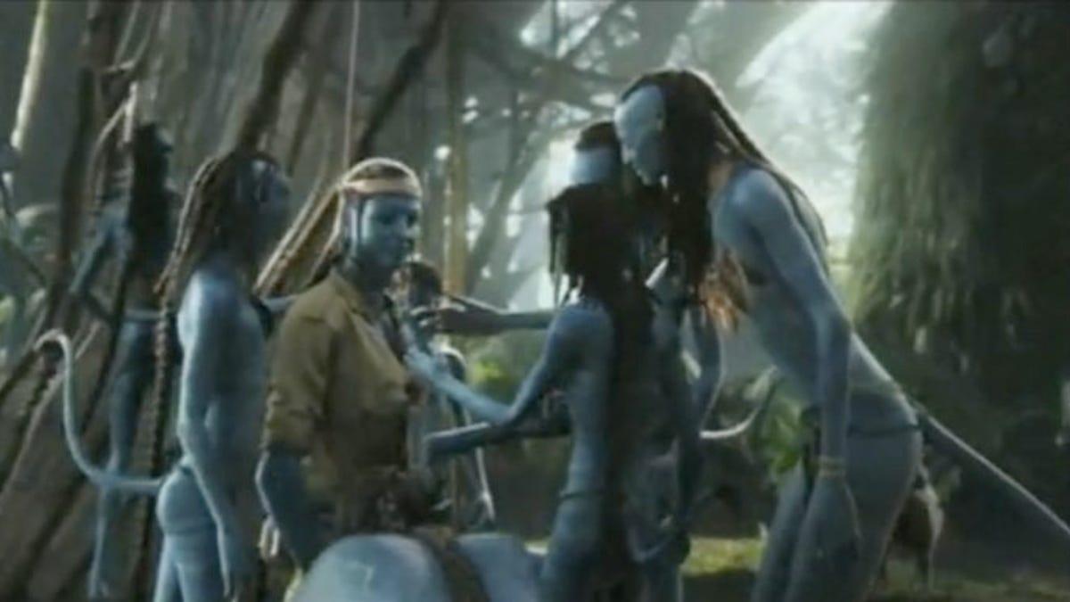 Avatar deleted sex scene video