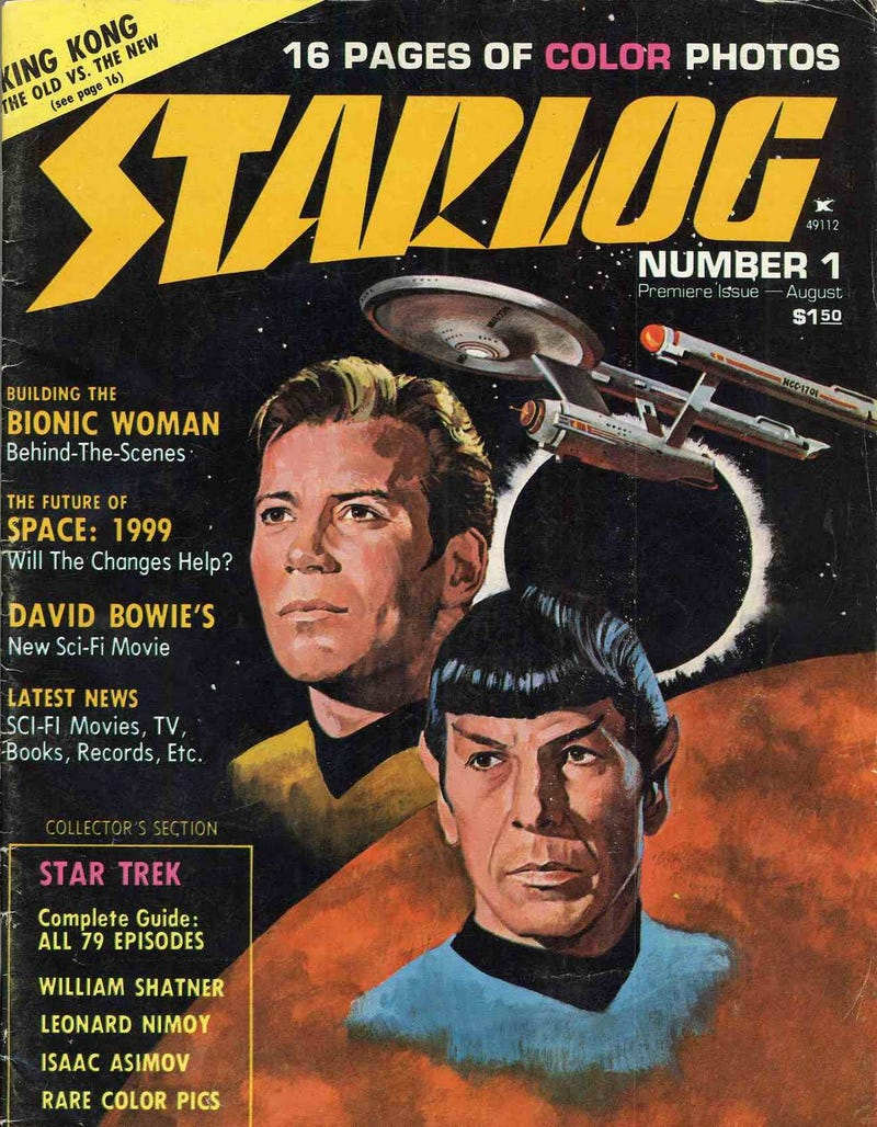 Illustration for article titled The First 224 issues of Starlog, available for download!