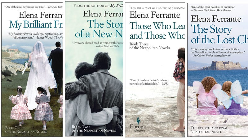 Illustration for article titled Author Elena Ferrante: 'I Am A Passionate Reader of Feminist Thought'