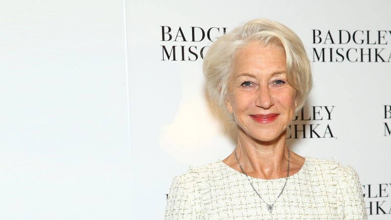 Illustration for article titled Helen Mirren Thinks Men Slinging Their Arms Around Their Girlfriends 'Is Like Ownership'