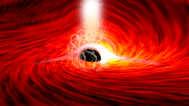 Physicists See Light Echoing From Behind a Black Hole for the First Time