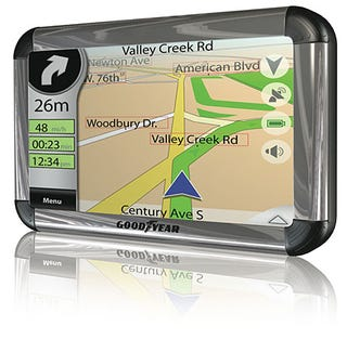 Illustration for article titled Goodyear Announces an Octet of 'Rugged' GPS Units