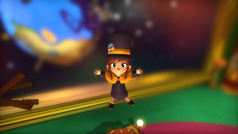 Screenshot: A Hat In Time/Gears For Breakfast