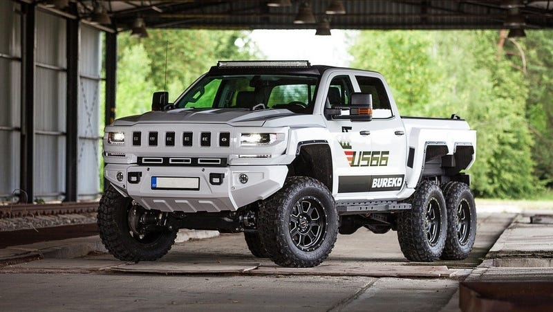 Finally: A Chevy Silverado 6x6 That Kind of Looks Like a Hummer