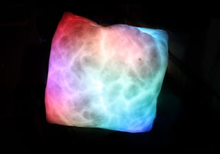 Illustration for article titled The Whole Cosmos Seems to Live in This Furry, Glowy Pillow