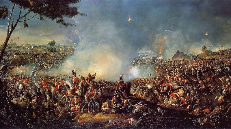 Illustration for article titled How I Survived The Battle Of Waterloo With Only A Smartphone And 2 Chocolate Chip Cookies