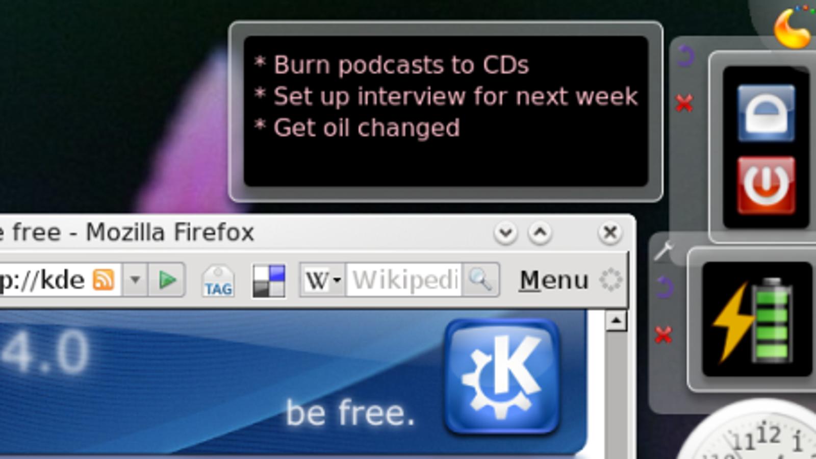 Design Your Own Desktop with KDE 4
