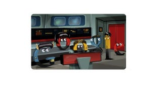 Illustration for article titled The Star Trek Google Doodle Might Be the Best One Yet