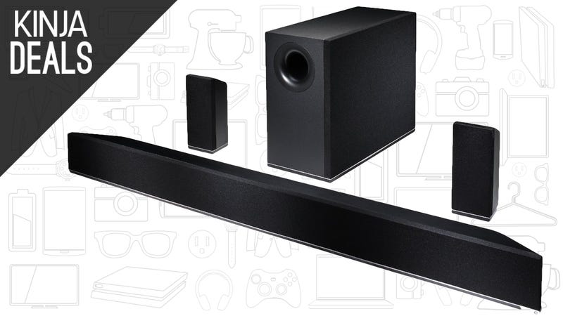 Illustration for article titled Everything You Need For 5.1 Channel Surround Sound is Under $200 Today