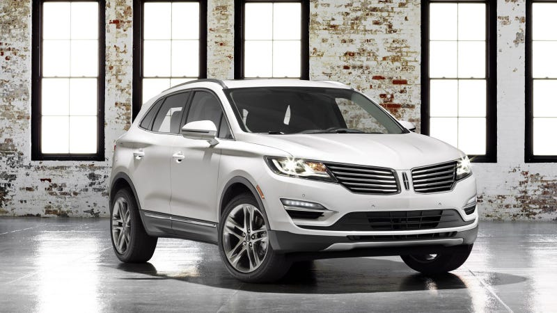 Illustration for article titled 2015 Lincoln MKC Starts At $33,995, Has Trim Levels Named After Liquor