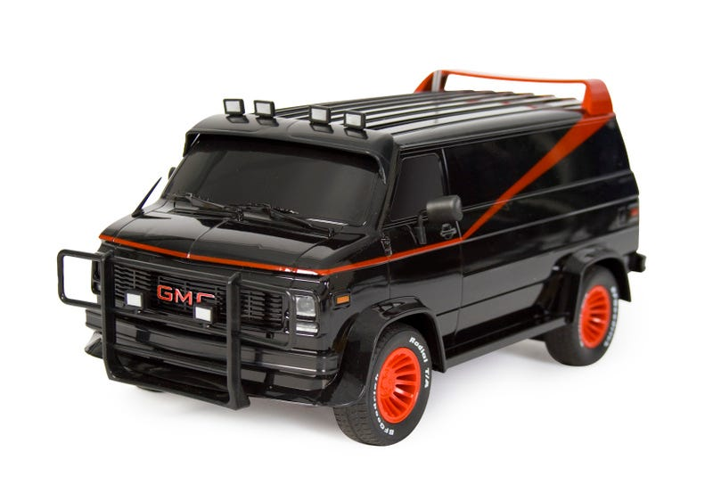 Illustration for article titled I Pity the Fool Who Doesn't Get this A-Team RC Van