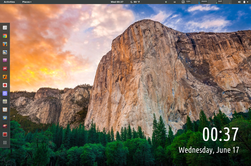 Illustration for article titled The Chromebook Yosemite Desktop