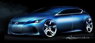 Illustration for article titled Lexus Premium Compact Concept Frankfurt-Bound