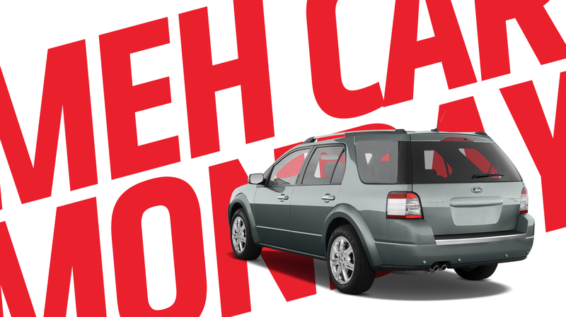 Illustration for article titled Meh Car Monday: Oh, Right, The Ford Freestyle/Taurus X Was A Thing That Existed, Once