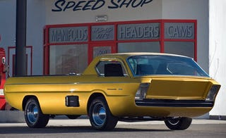 Illustration for article titled Futuristic Dodge Deora Concept Up For Auction