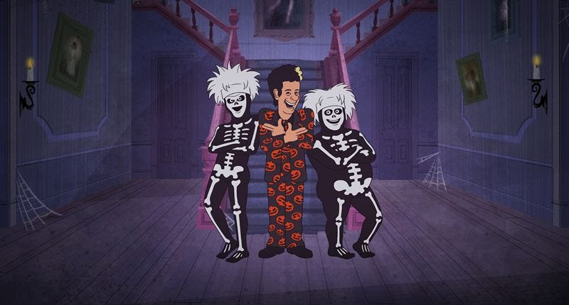 David S. Pumpkins gets his own show