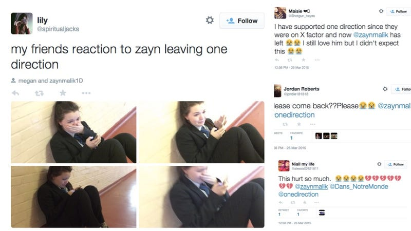 Watch the World's Teens Sob, Lose Their Shit Over Zayn