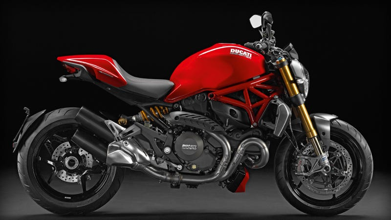 Illustration for article titled I rode a Ducati Monster 1200S this weekend