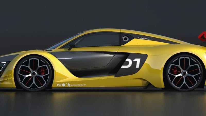 The Renaultsport RS 01 Is The MidEngined GTR You Always Wanted