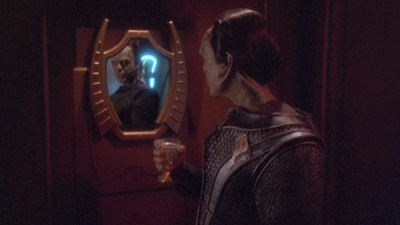 """Illustration for article titled Star Trek: Deep Space Nine: """"'Til Death Do Us Part""""/""""Strange Bedfellows"""""""