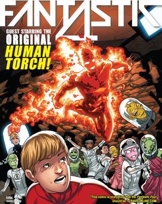 Illustration for article titled Fantastic Four #9, or Orange (Rocky Skin) is the New Black