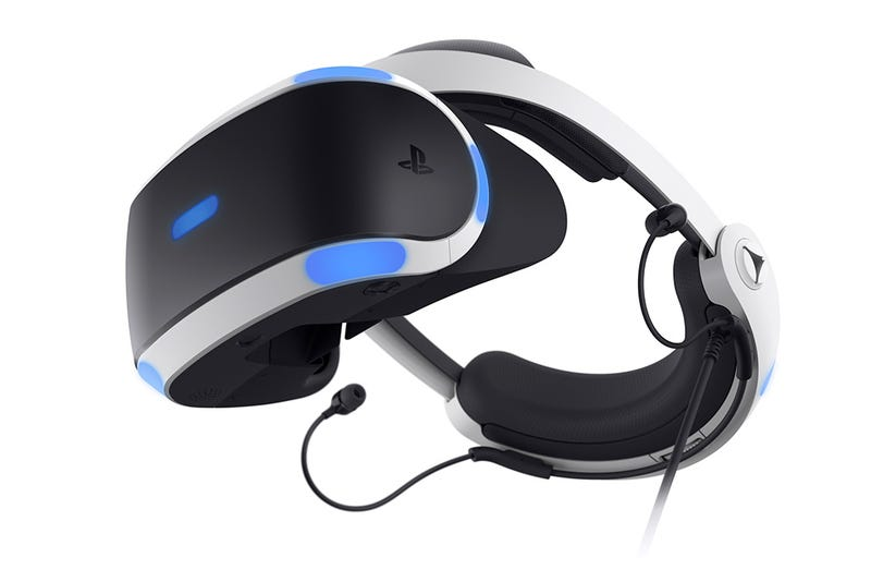 Sony reveals updated PlayStation VR headset
