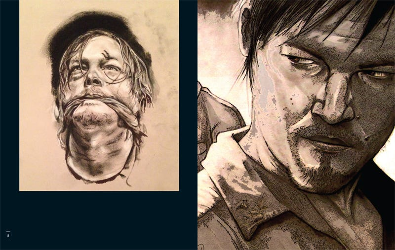 Illustration for article titled Norman Reedus is releasing a book of Daryl Dixon Fan Art