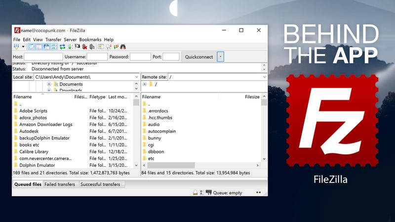 Behind the App: The Story of FileZilla
