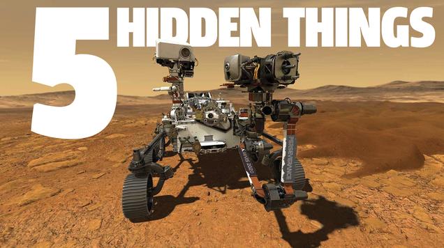 NASA s New Mars Rover Has Some Fun Easter Eggs