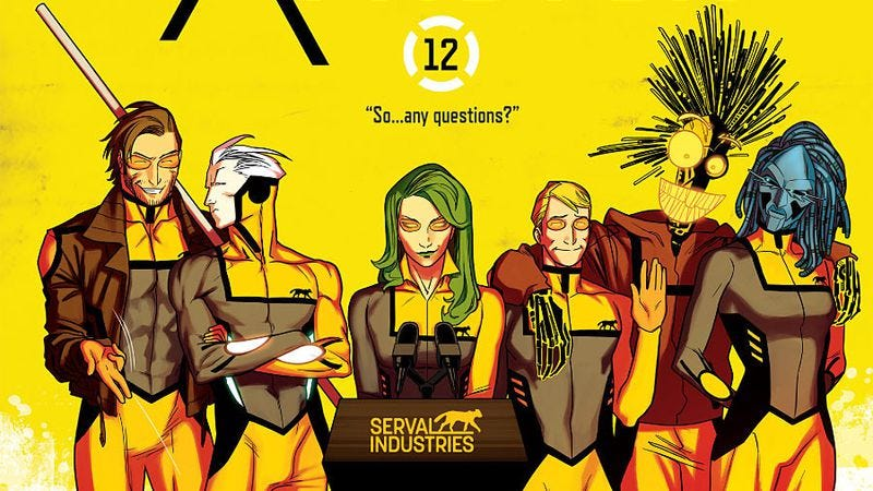 Illustration for article titled All-New X-Factor #12 upgrades the X-team by going corporate