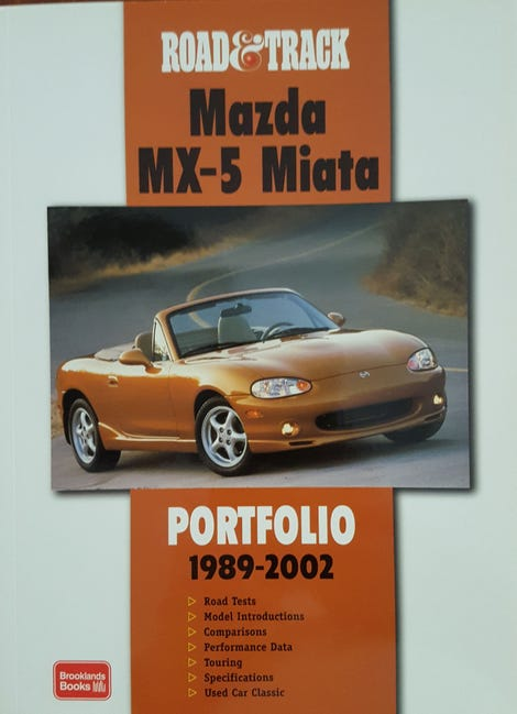 Illustration for article titled Book Review: Road & Track Mazda MX-5 Portfolio 1989-2002