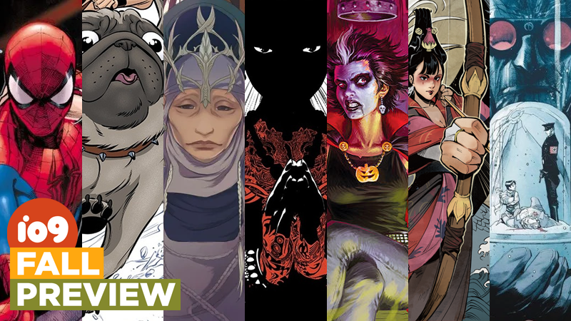 Just seven of the many, many comics coming your way this fall.