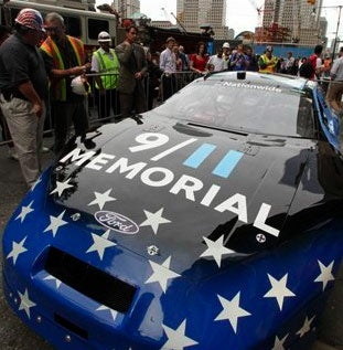 Illustration for article titled Always Be Remembering 9/11 (During NASCAR Blow-Ups)
