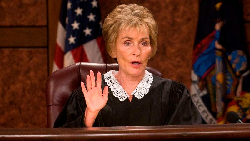 Illustration for article titled Judge Judy's TV reign will continue through 2020