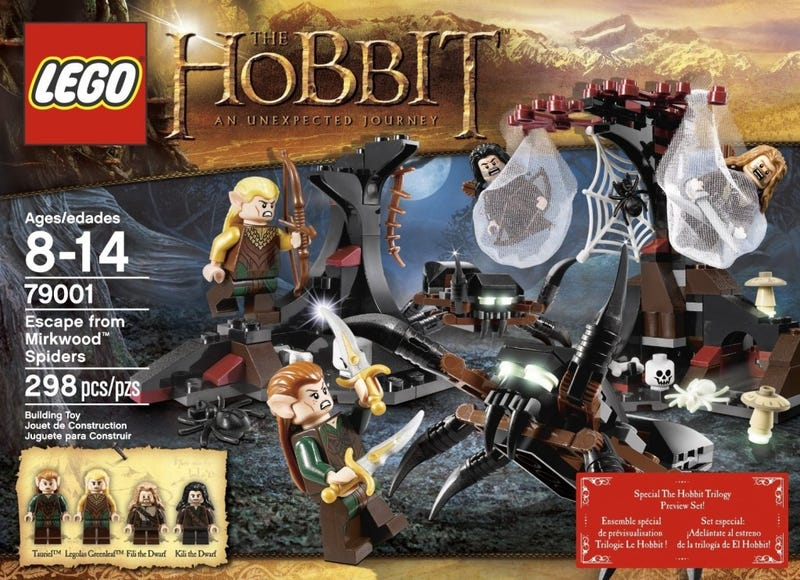 Illustration for article titled Leaked Hobbit Lego sets give a glimpse at The Desolation of Smaug (UPDATED)