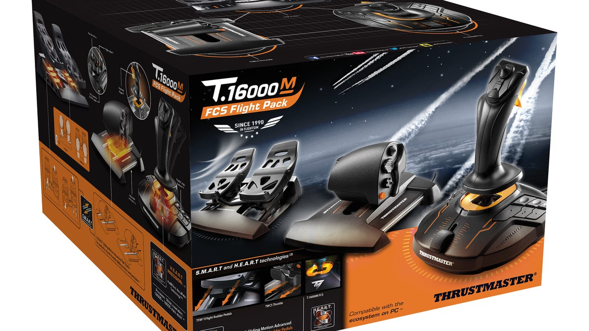 Thrustmaster T 16000M FCS Flight Pack Review: PC Aviation Essentials