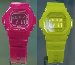 Illustration for article titled Casio G-Shocks Updated In Crazy Colors