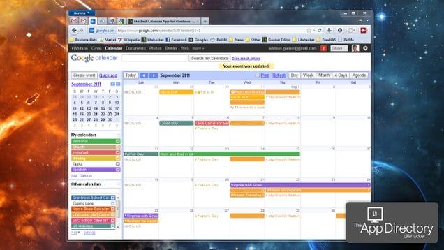 Desktop Calendar Windows 8 : The best calendar app for windows