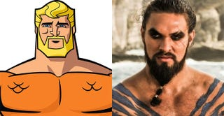 Illustration for article titled Report: Khal Drogo Is Going To Play Aquaman