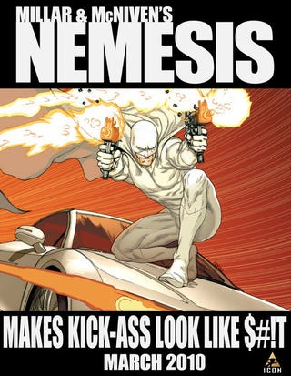 Illustration for article titled Display This Profanity-Laced Nemesis Poster And Win