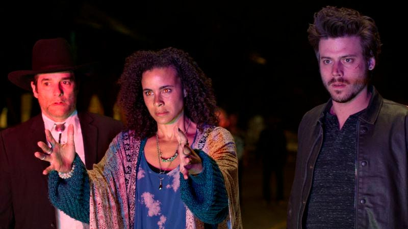 Yul Vázquez, Parisa Fitz-Henley, and Francois Arnaud (Photo: NBC)