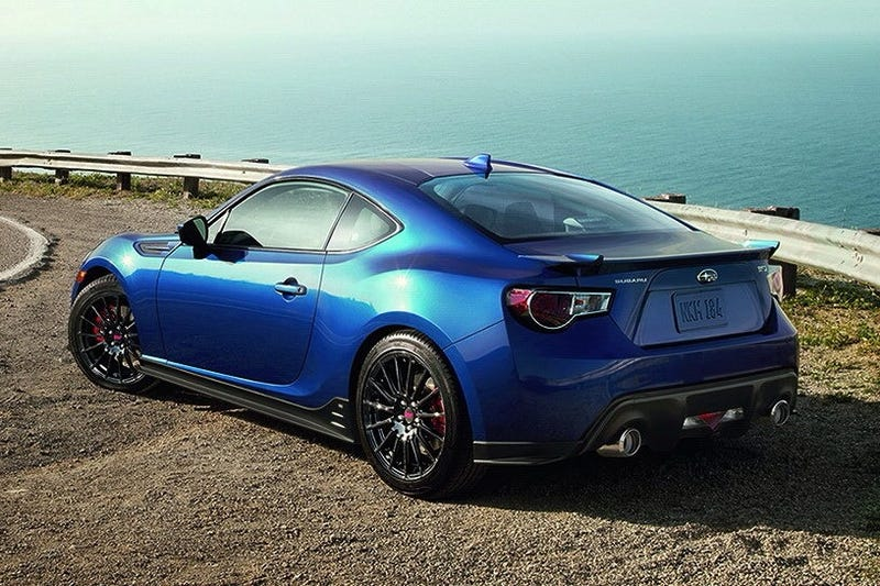 Illustration for article titled Thoughts on the BRZ Series.Blue?