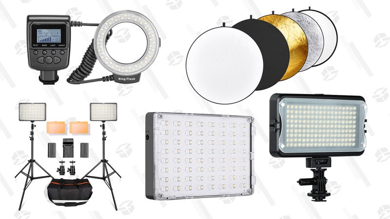 Illustration for article titled Upgrade Your Photography Game With These Lighting Accessories
