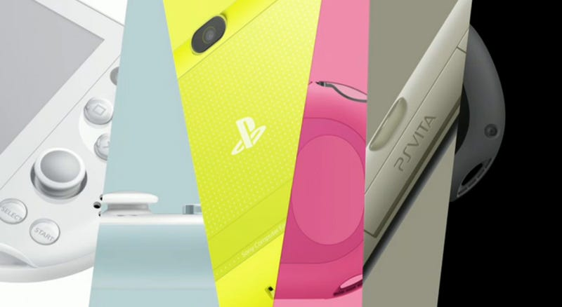 Illustration for article titled New PS Vita Is Slimmer, Lighter, More Colorful