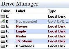 Illustration for article titled Drive Manager Provides a Detailed Overview of Your Drives