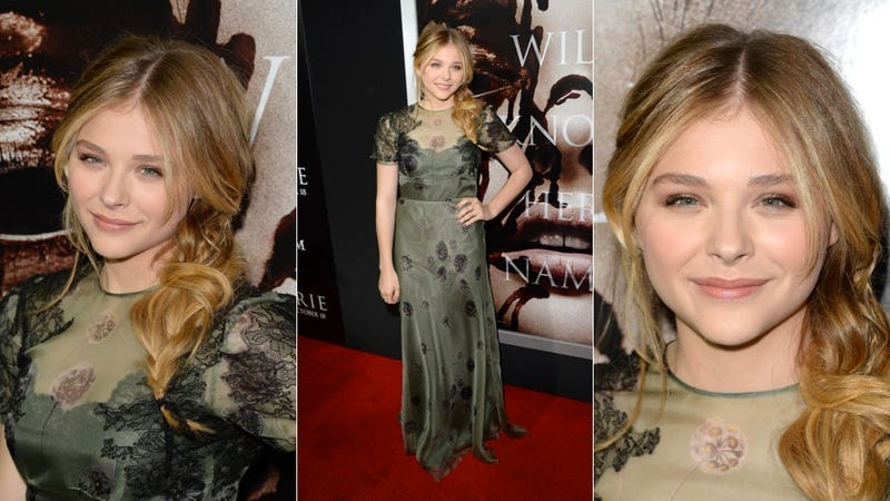 Illustration for article titled Chloë Grace Moretz Is Your New Fall Hair-spiration
