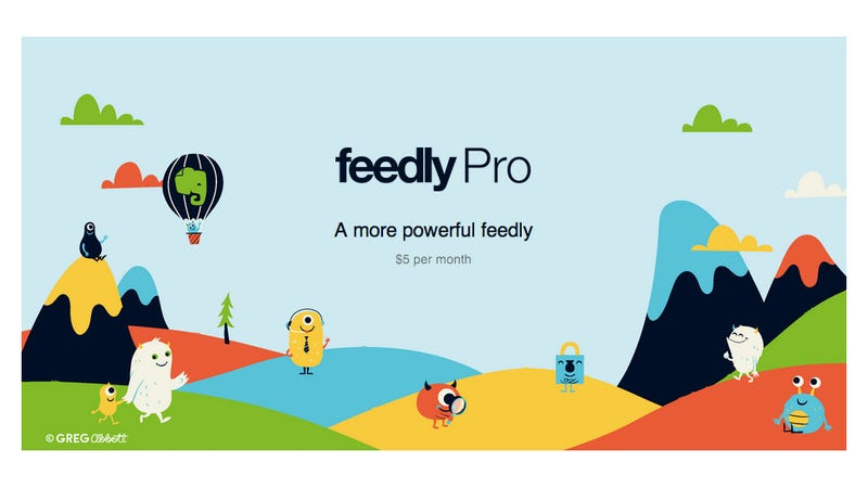 Illustration for article titled Feedly Pro Will Offer Article Search, Evernote, and More--For a Price (Updated)