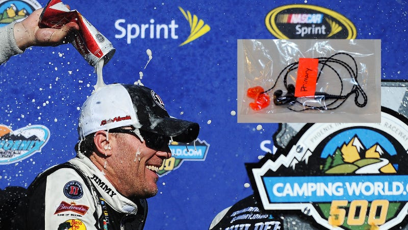 Illustration for article titled Here's Your Opportunity To Buy Some Of Kevin Harvick's Earwax
