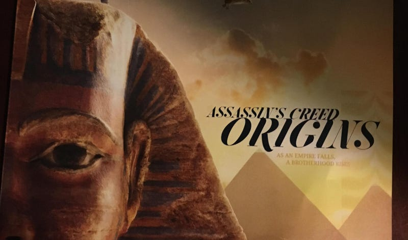 The first trailer of the game Assassin's Creed Origins