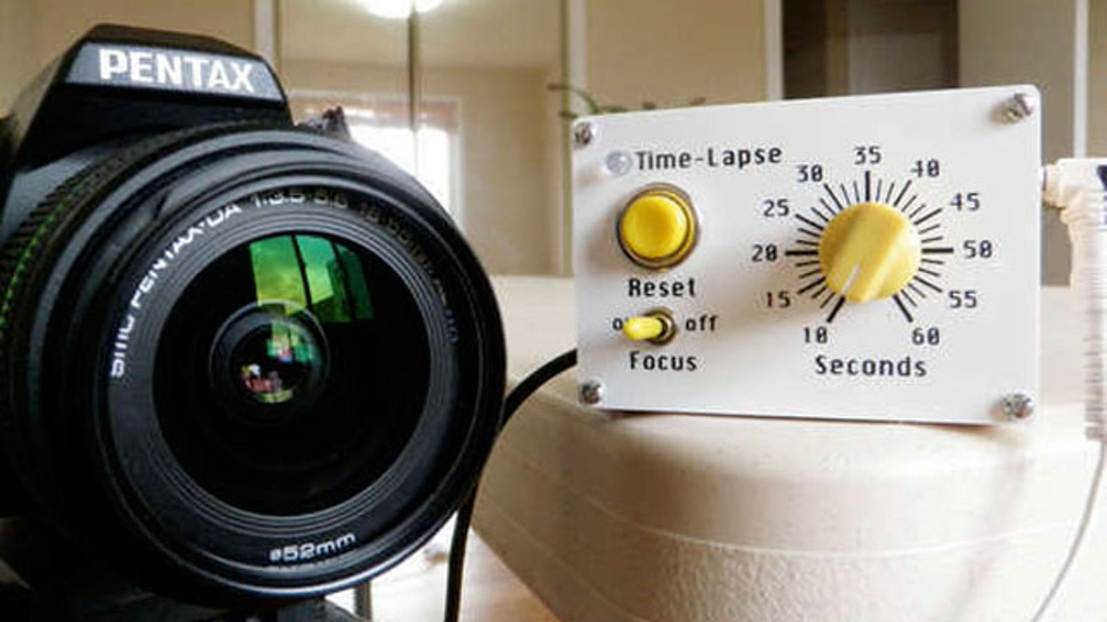 Make a DIY Arduino Intervalometer for Easy Time-Lapse ...